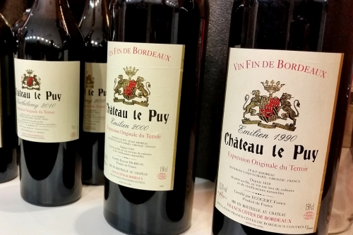 Professional Tasting with Chateau Le Puy 2015